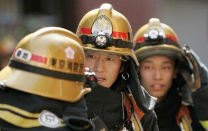 В Японии создан отряд роботов-пожарных