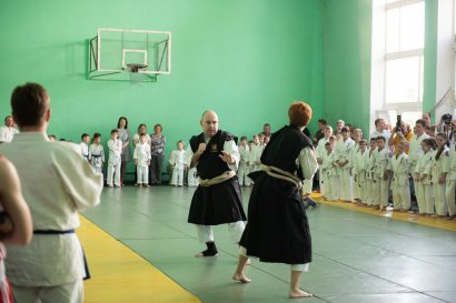 В Одесской Юракадемии прошел третий семинар памяти Мастера айкитэдо Любови Матюненой