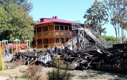 В августе лагерь «Виктория» примет первую после пожара детскую смену
