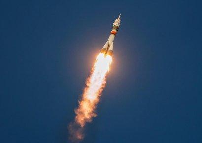 В России молния ударила в ракету при старте