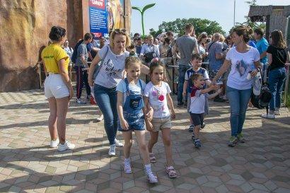 Детский праздник в Биопарке для маленьких одесситов