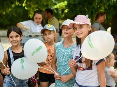 Ко Дню защиты детей в парке Шевченко прошел детский фестиваль при поддержке Сергея Кивалова