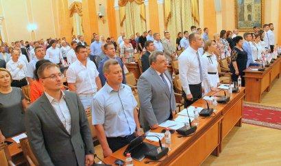 XХХV сессия Одесского городского совета VІІ созыва в лицах.