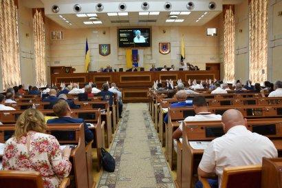 Сессия Одесского облсовета: Председателю облсовета предложили уйти в отставку