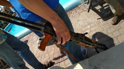На пляже «Отрада» произошла драка со стрельбой