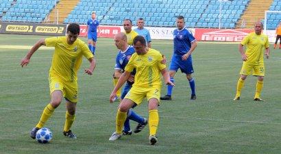 Товарищеский матч сборных команд мэров и глав территориальных громад Украины и Словакии сыграли на стадионе «Черноморец».