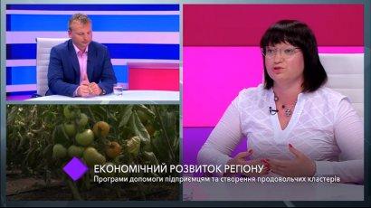 Экономическое развитие Одесского региона. В студии — заместитель губернатора Светлана Шаталова