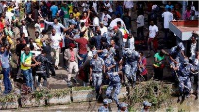 Сигнал нашим, там уже началось. В Эфиопии в ходе беспорядков убиты начальник генштаба и несколько высокопоставленных чиновников