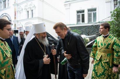 Сергей Кивалов поздравил Предстоятеля Украинской Православной Церкви с Днем ангела