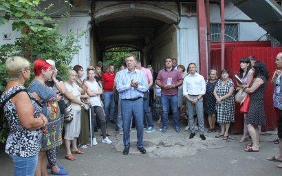 Встречи с жителями Приморского района продолжаются: многие проблемы одесситов уже на пути к своему решению