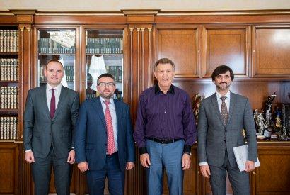 Одесскую Юракадемию посетил заместитель министра юстиции Украины Денис Чернышов
