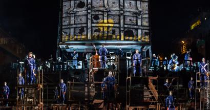 Специальное событие Одесского кинофестиваля – перформанс-опера на Потемкинской лестнице