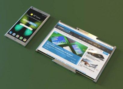 Samsung запатентовала смартфон с раздвижным экраном (видео)