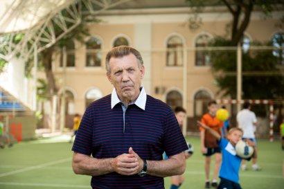 Для детей Приморского района Одессы работает бесплатная секция по футболу