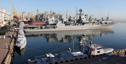 День Военно-морских сил Украины: рабочий визит Владимира Зеленского в Одессу.