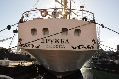 «Дружба» – последний парусник Украины
