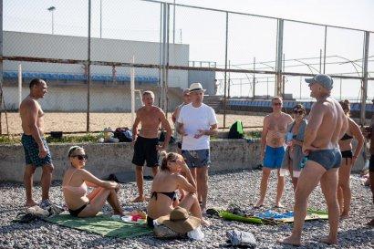 Народный депутат Сергей Кивалов борется за доступность пляжей города