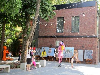 В Одессе появился арт-дворик