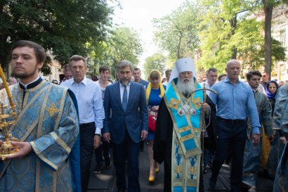 В Одессе Крестным ходом почтили Касперовскую икону Божьей Матери.