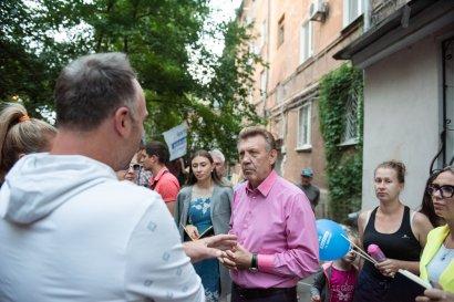 Народная программа Сергея Кивалова в действии: встречи в одесских дворах продолжаются
