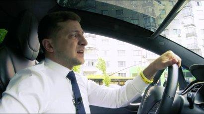 Стало известно, на какой машине ездит Зеленский
