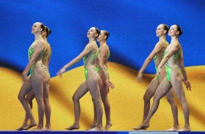 Украинские синхронистки завоевали бронзовые медали на чемпионате мира