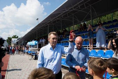 На 8-й станции Фонтана открыли современный спортивный комплекс