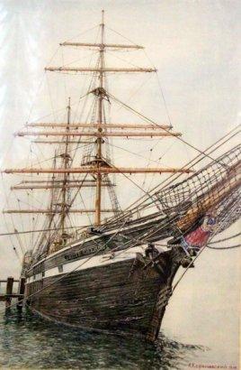 Капитан, моряк и художник… В Одесском литературном музее открылась выставка живописи мариниста Александра Кореневского