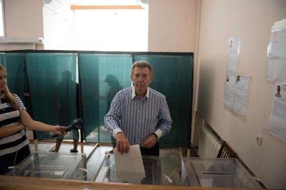 Сергей Кивалов призвал одесситов прийти на избирательные участки и проголосовать