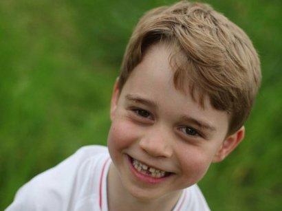 Кейт Миддлтон выложила новые фото принца Джорджа в день 6-летия сына