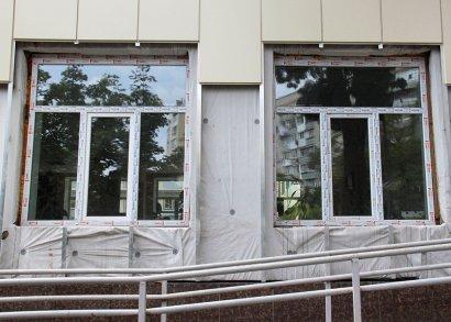 На Фонтане продолжается капитальный ремонт школы № 81