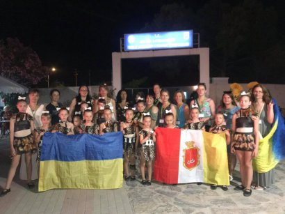Одесский хореографический коллектив «Счастье» триумфировал на международном фестивале-конкурсе Sea and Sun days Festival в Турции