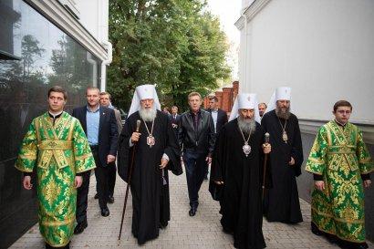 Сергей Кивалов поздравил Блаженнейшего Митрополита Киевского и всея Украины Онуфрия с юбилеем интронизации
