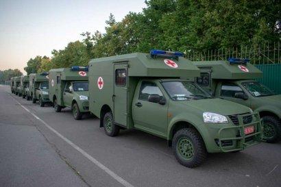 ВСУ получили большую партию новых санитарных авто отечественного производства