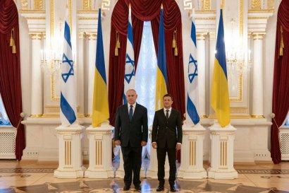 Зеленский и Нетаньяху почтили память погибших в Бабьем Яру