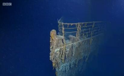 """Исследователи показали как выглядит """"Титаник"""" спустя 107 лет после катастрофы"""