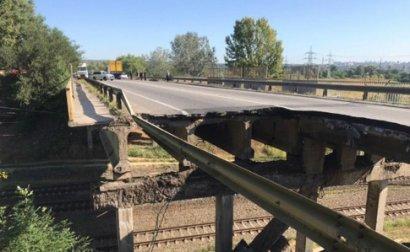 """Укравтодор объяснил, почему """"устал"""" и обрушился мост в Харькове"""