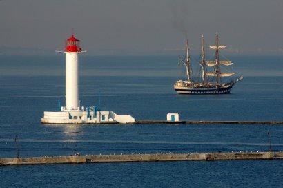 В нашу гавань заходили корабли: баркентина «Палинуро»