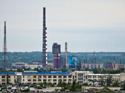 """В Северодонецке произошла утечка аммиака на заводе """"Азот"""""""