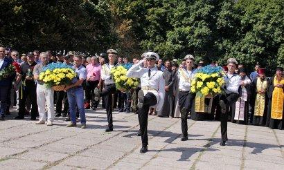 Память погибших защитников Украины почтили в Одессе.