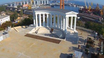 Воронцовскую колоннаду откроют после реставрации