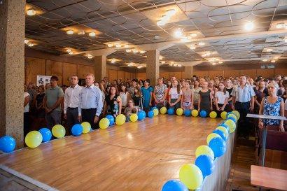 В училищах Одесской Юракадемии прошел праздник Дня знаний