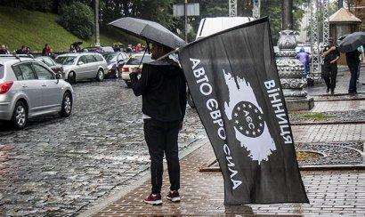 За две недели успели оштрафовать 240 владельцев «евроблях»