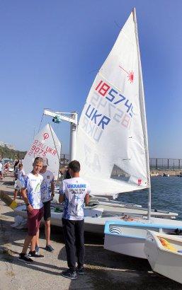 В Одессе стартовал чемпионат Украины по парусному спорту