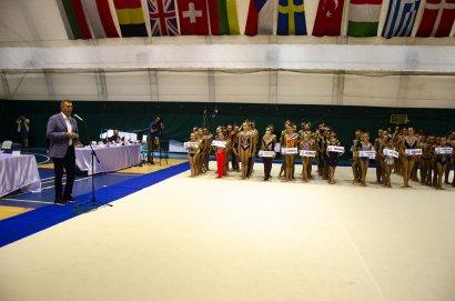 В спорткомплексе МГУ состоялся турнир по художественной гимнастике и спортивным танцам