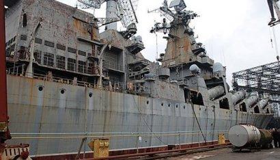 """Новый глава Укроборонпрома озаботился продажей крейсера """"Украина"""""""
