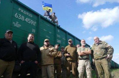Во Львовской области участники АТО заблокировали вагоны с российским углем, - Волынец