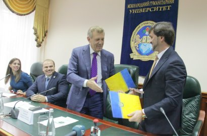 Международный гуманитарный университет подписал меморандум с Главным теруправлением юстиции в Одесской области