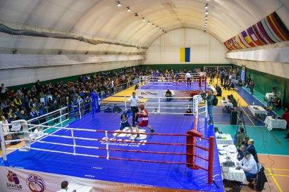 В Одессе проходит Чемпионат Украины по боксу среди юниоров памяти Романа Песина