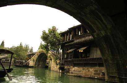 Китайская «Венеция» прекрасный Учжэнь